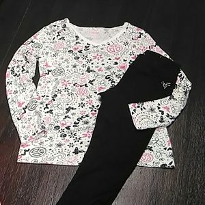 NEW LIST Girls long sleeve v neck tee.  Size 8